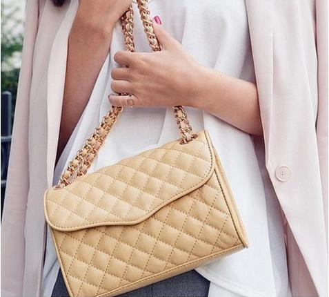Rebecca Minkoff Quilted Mini Affair Cross-Body Handbag