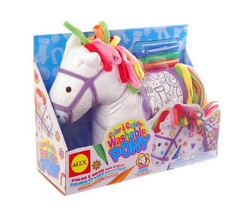 ALEX Toys Craft Color & Cuddle Pony Soft Toy