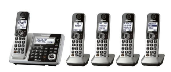 Panasonic KX-TGF375S Link2Cell DECT 6.0 Expandable Cordless Phone System