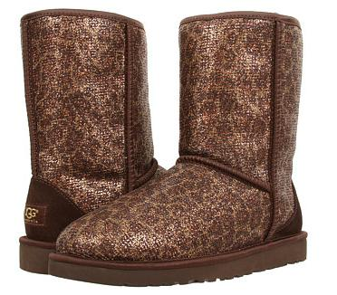 UGG Classic Short Glitter Boots On Sale @ 6PM.com