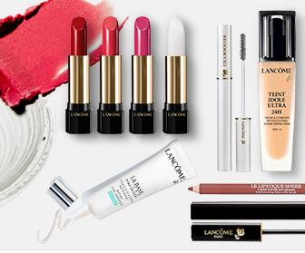 15% Off With 3 Beauty Items Purchase For Your Face, Lip, or Eyes @ Lancome