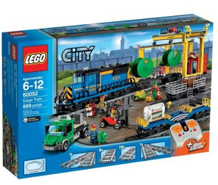 $123.99 Lowest Price Ever! LEGO City Trains Cargo Train 60052 Building Toy