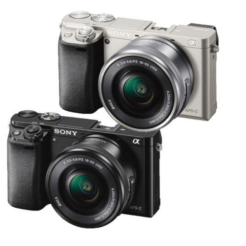 Sony Alpha a6000 White with 16-50mm Power Zoom Lens