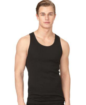 Calvin Klein Men's 3-Pack Cotton Classic Rib Tank