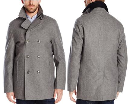 $66.25 London Fog Men's San Fran Peacoat