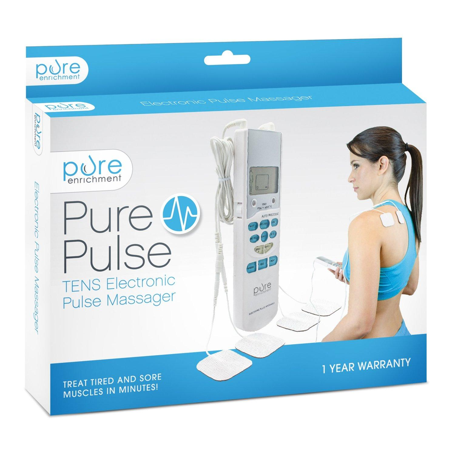$19.99 Lightning deal-PurePulse Electronic Pulse Massager