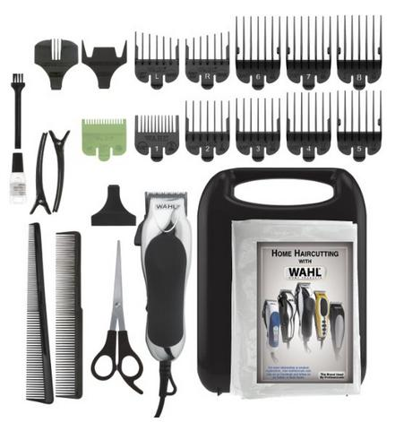 #1 Best seller! Wahl 79524-2501 Chrome Pro 24-Piece Haircut Kit