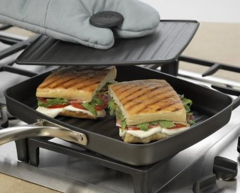 Calphalon Unison Nonstick, Sear Surface, Grill Pan and Press