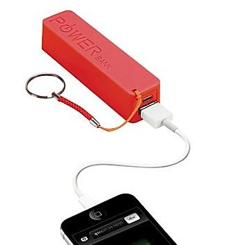 Urge Basics PowerPro 2,000mAh USB Keychain Charger