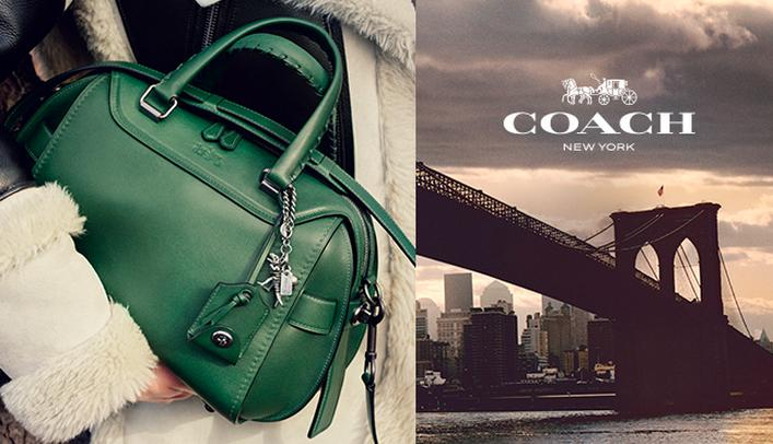 Up to 25% Off Full-Price and Sale Coach Handbags & Shoes @ Bloomingdales