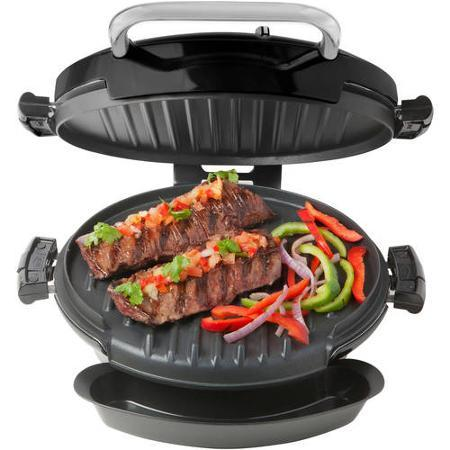 George Foreman 360 Grill with 2-Removable Grill Plates