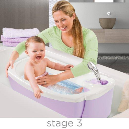 Summer Infant Lil' Luxuries Whirlpool Bubbling Spa and Shower Tub