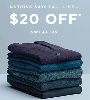 $20 Off Selected Sweaters at LOFT