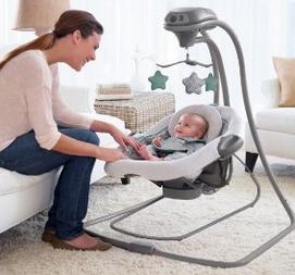 Graco DuetConnect LX Swing + Bouncer, Manor @ Amazon.com
