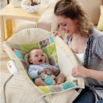 Fisher-Price Newborn Rock 'N Play Sleeper, Rainforest Friends @ Amaozn.com