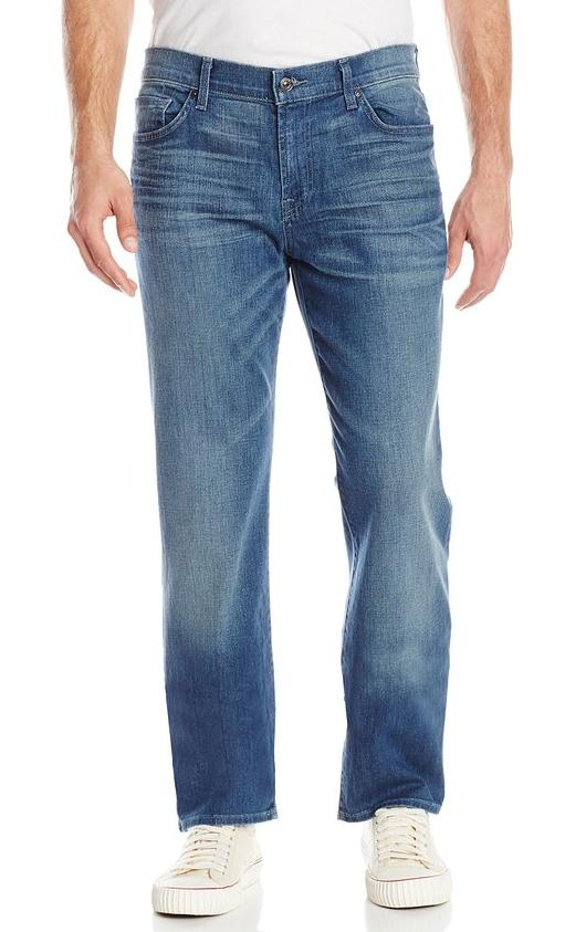 7 For All Mankind Men's Standard Classic Straight-Leg Jean with Pockets