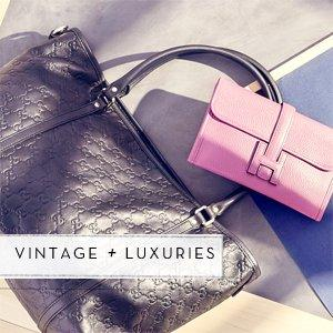 As Low As $200 Vintage Louis Vuitton, Gucci & More Designer Handbags On Sale @ Rue La La