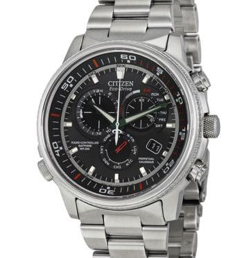 Citizen Nighthawk A-T Black Dial Mens Watch