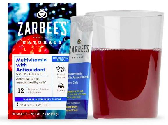 Free  Zarbee's Multivitamin with Antioxidant Supplement Sample