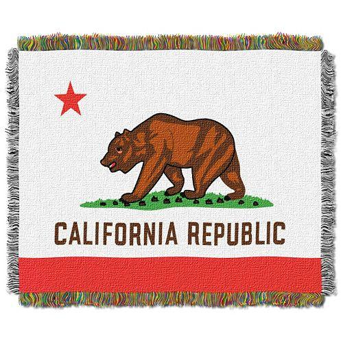 State Flag Tapestry Throw