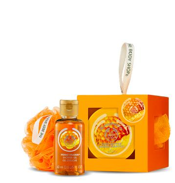 The Body Shop Bath and Body Gift Cubes