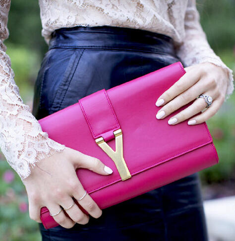 Extends 1 More Day! $300 Gift Card Saint Laurent Clutch Bag + Wacoal Underware