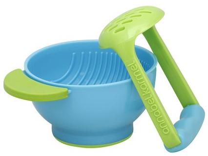 NUK Freshfoods by annabel karmel Mash & Serve Bowl - Blue/Green