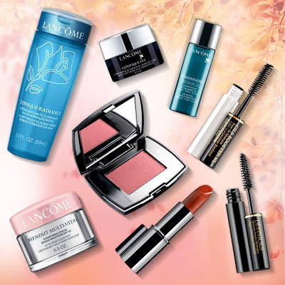 9 Travel Size Samples With Any $35 Order @ Lancome