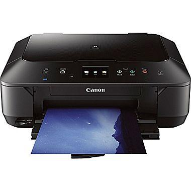 Canon MG6620 Wireless Photo All-in-One Inkjet Cloud Printer (white)