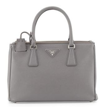 Prada  Saffiano Small Executive Tote Bag with Strap