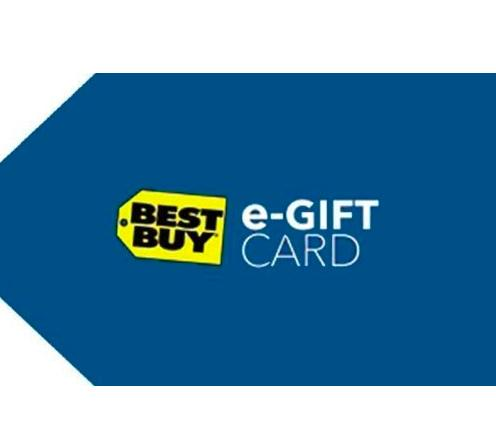 Free $5 Best Buy Gift Card when You Buy $50 Best Buy Gift Card