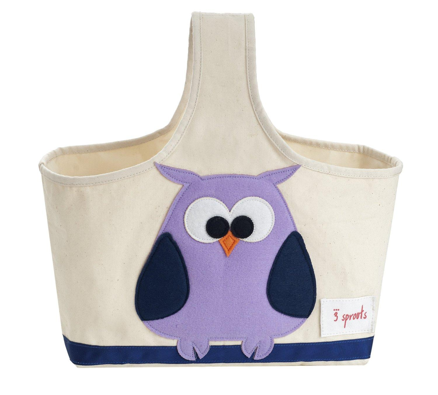3 Sprouts Storage Caddy, Owl