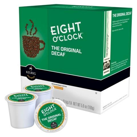 $20.98 + $5 Gift Card + Free Shipping 3x 18-Count Eight O'Clock Coffee Keurig K-Cups