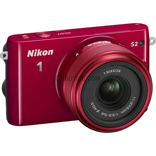 Nikon 1 S2 14.2MP Digital Camera w/ 11-27.5mm Lens