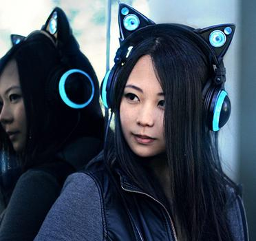 $112.99 NEW Axent-wear Cat Ear Headphones