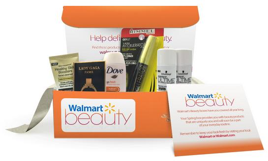 Free Beauty Box @ Walmart