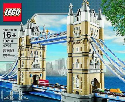 $231.99 LEGO Tower Bridge 10214 with 4 Miniature Vehicles