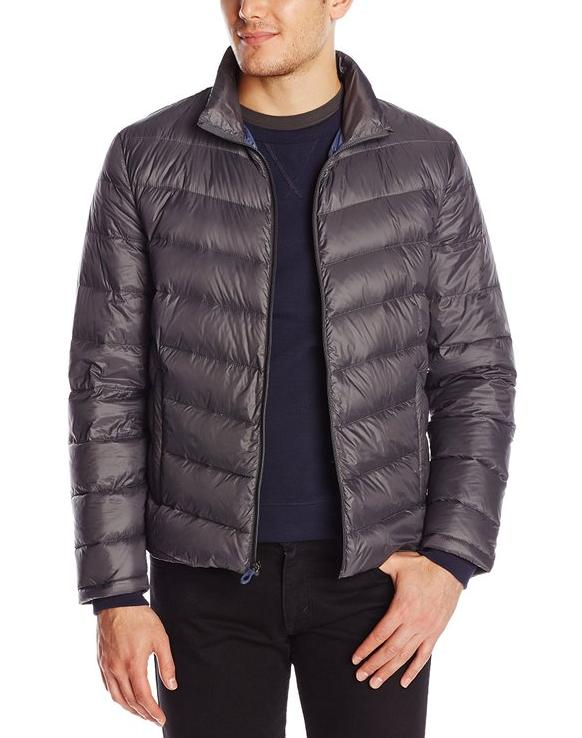 Kenneth Cole New York Men's Packable Down Jacket