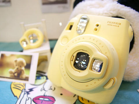 $54.97 Fujifilm Instax Mini 8 Instant Film Camera (Yellow)