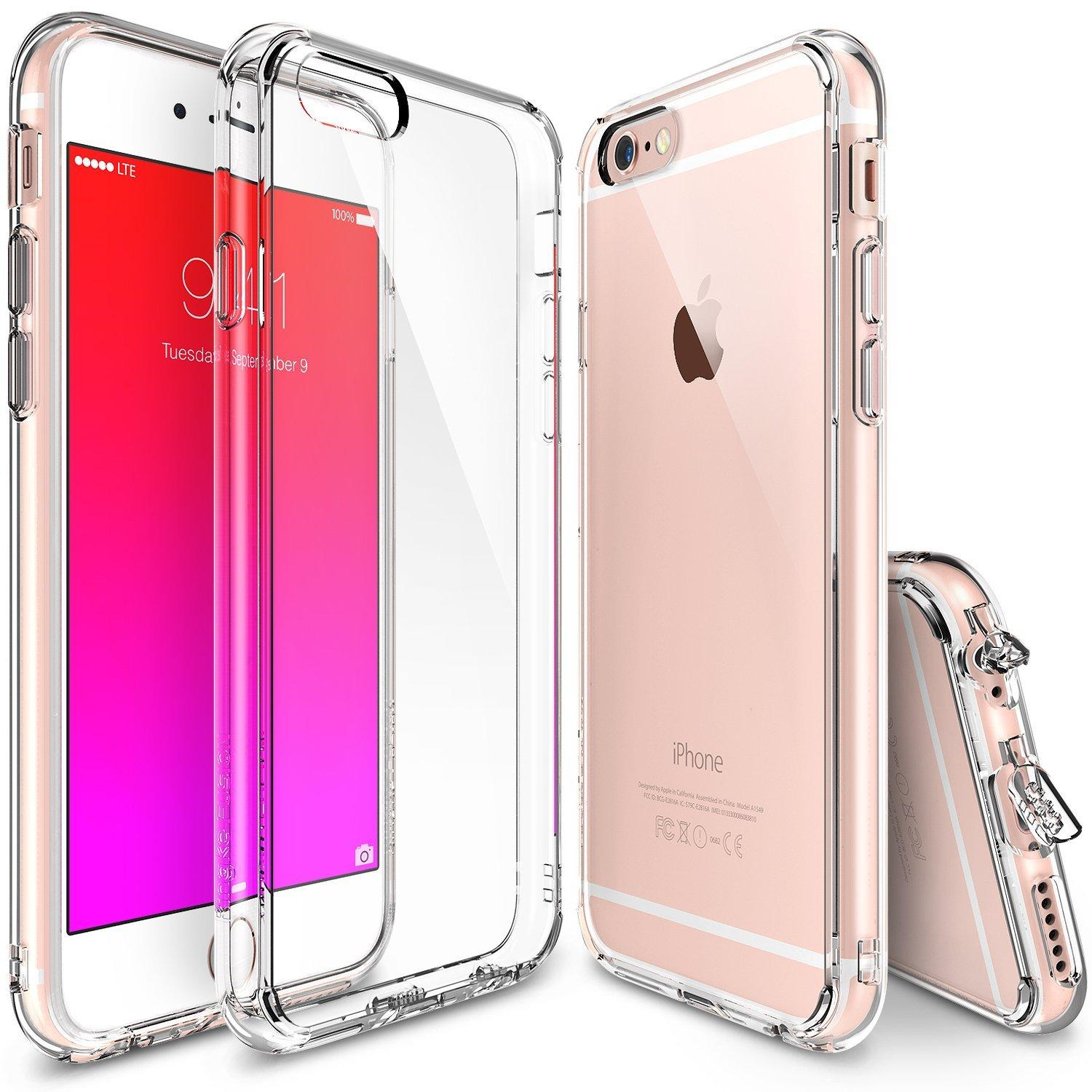 iPhone 6S Case, Ringke FUSION Shock Absorption Technology