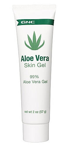 2 For $2.98 GNC Aloe Vera Skin Gel 2 oz.