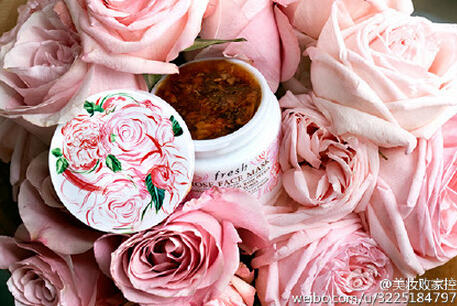 $62 + Up to $600GC Fresh Limited Edition Rose Face Mask Designed by Jo Ratcliffe 3.4 oz.