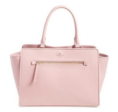 kate spade new york 'north court - anton' pebbled leather satchel @ Nordstrom