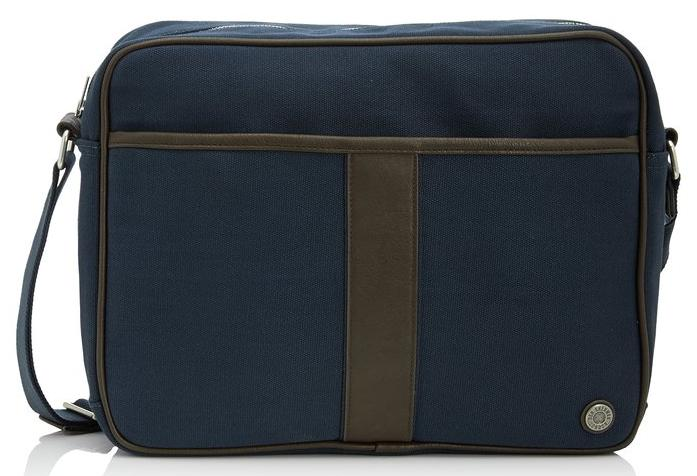 Ben Sherman Men's Iconic Canvas Flight Bag