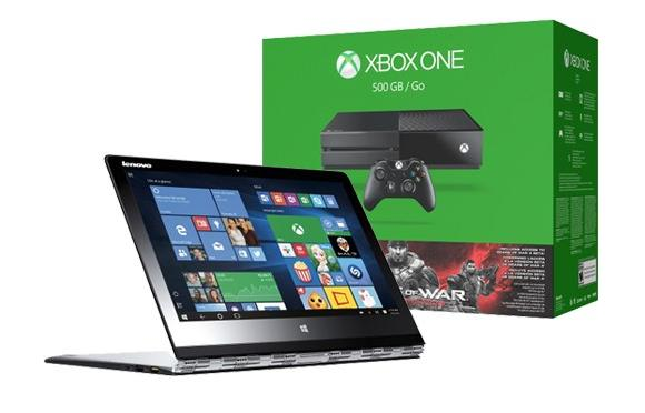 Lenovo Yoga 3 Pro80HE011WUS 2in1 Laptop with Xbox One Gears of War: Ultimate Edition Bundle