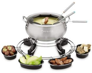 Cuisinart 3 Quart Electric Fondue Set (CFO-3SSFR) - Factory Refurbished