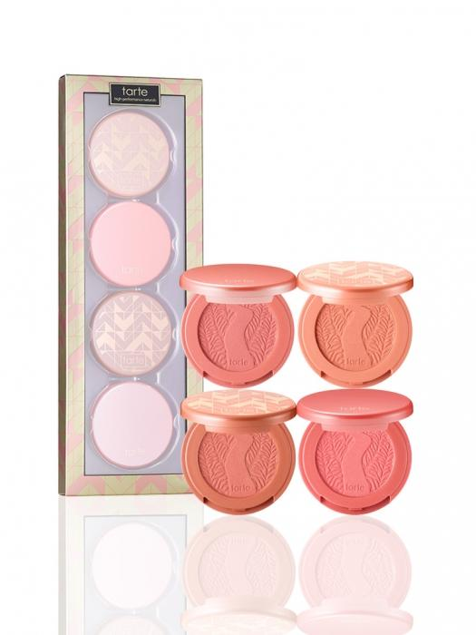New Release Tarte launched New 'at first blush' deluxe Amazonian clay blush set