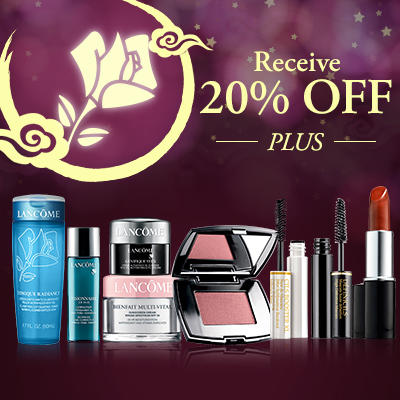 Dealmoon Exclusive! 20% Off Sitewide + 9-pcs Deluxe Samples  @ Lancome.com