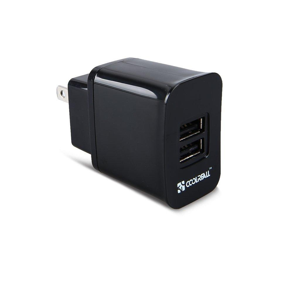 CoolReall  2Port Wall Charger /USB Car Charger