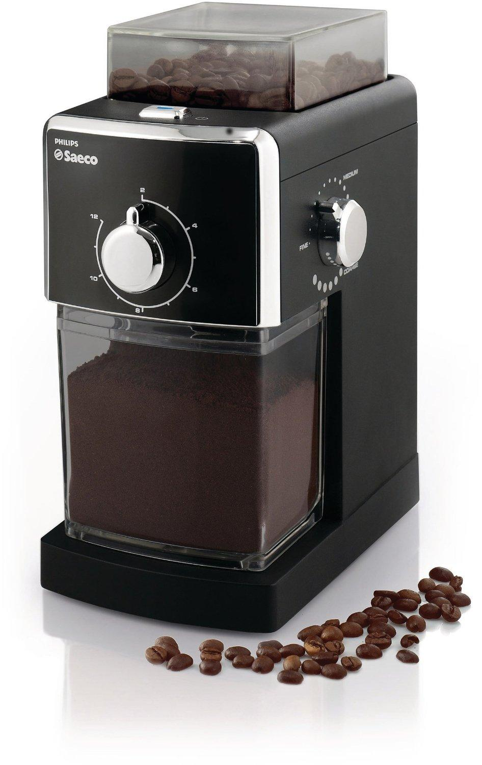 Philips Saeco Burr Coffee Grinder